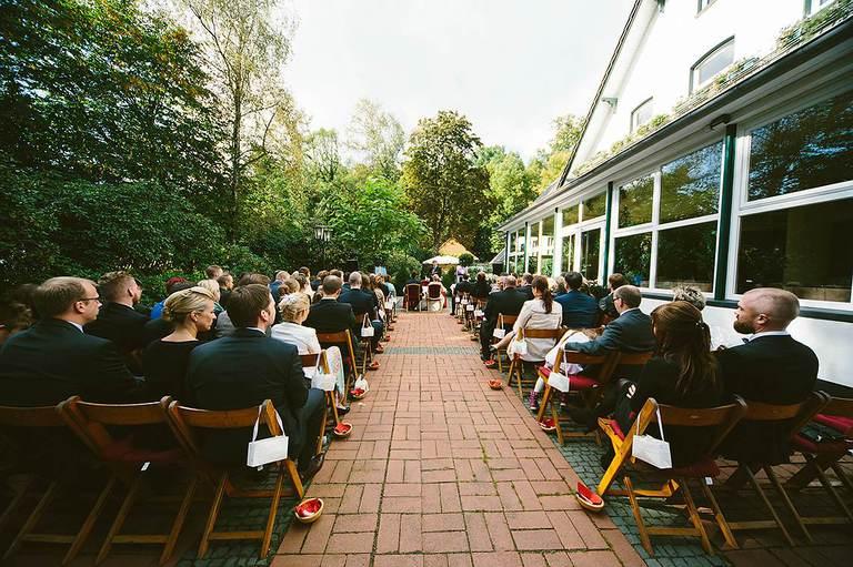 Freie Trauung im Schloßgarten Münster