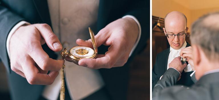 Taschenuhr vom Bräutigam