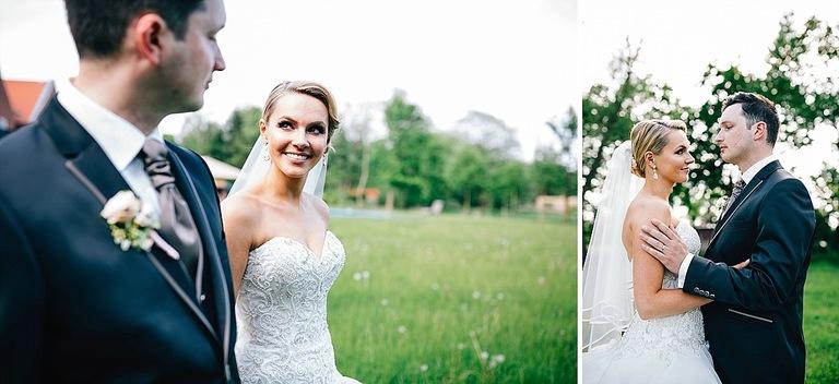 Brautpaarshooting im Beverland Landhotel