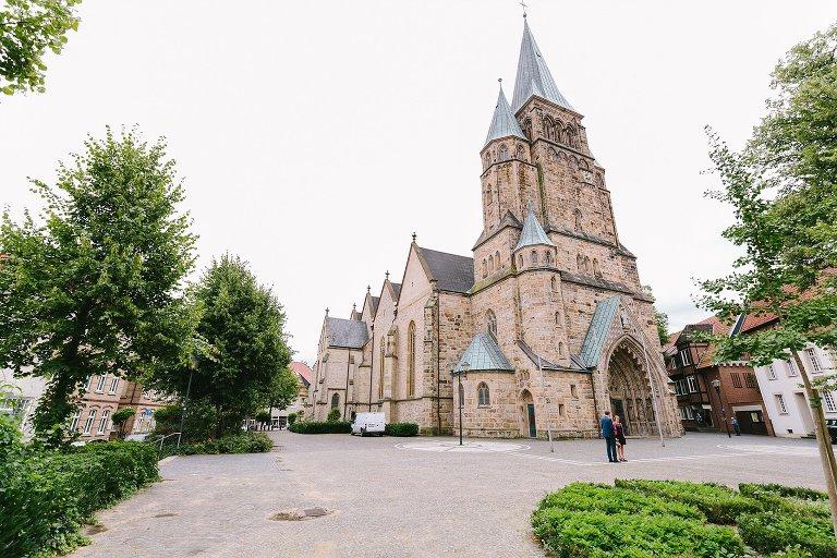 St. Laurentius Kirche in Warendorf ©Markus Koslowski Hochzeitsfotograf Warendorf