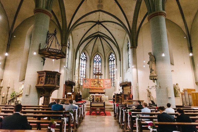 Innenansicht der St. Laurentiuskirche in Warendorf ©Markus Koslowski Hochzeitsfotograf Warendorf