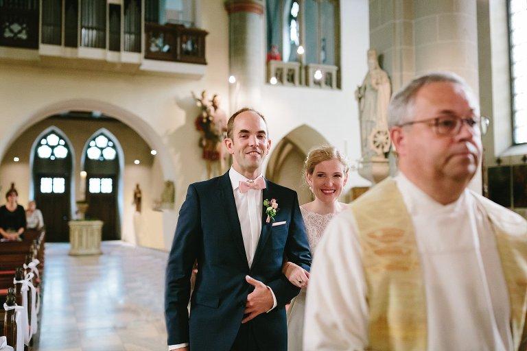 Einzug in die Kirche in Warendorf ©Markus Koslowski Hochzeitsfotograf Warendorf