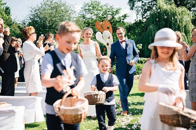 Braut und Bräutigam Freie Trauung Sportschloss Velen
