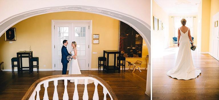 Brautpaar in der Orangerie Velen