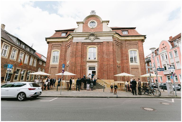 Lotharinger Kloster Münster Aussenansicht - Hochzeitsfotograf Lotharinger Kloster