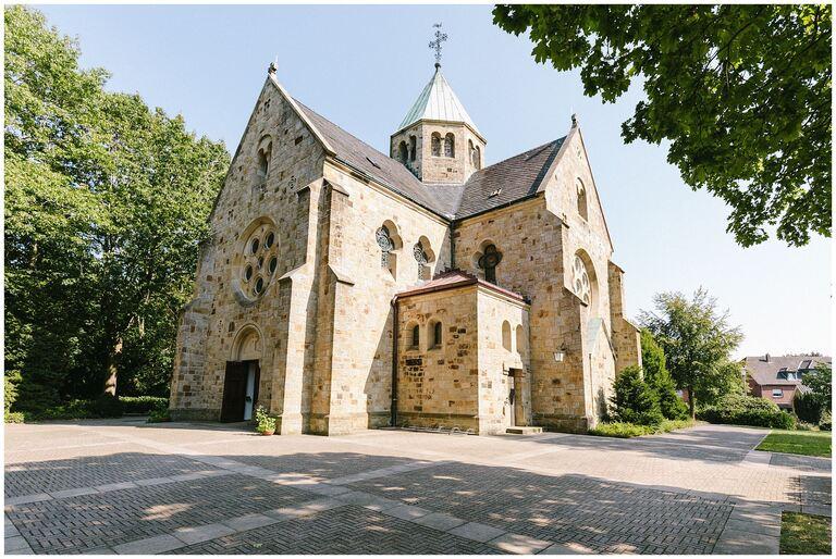 St. Mariä Heimsuchung in Rheine Aussenansicht