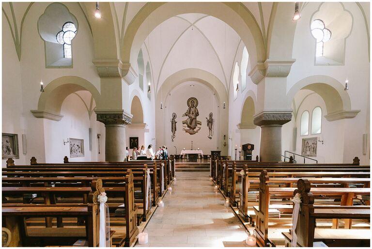 St. Mariä Heimsuchung in Rheine Innenansicht