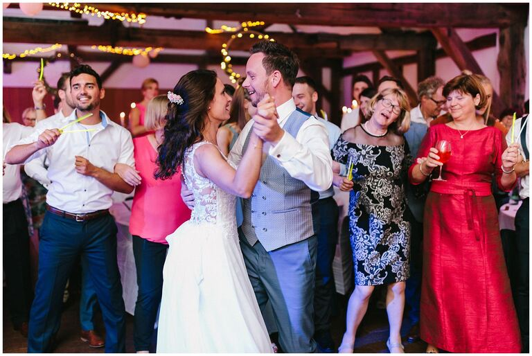 Brautpaar beim Eröffnungstanz